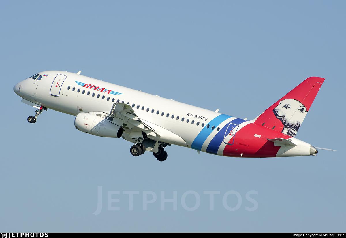 RA-89072 - Sukhoi Superjet 100-95LR - Yamal Airlines