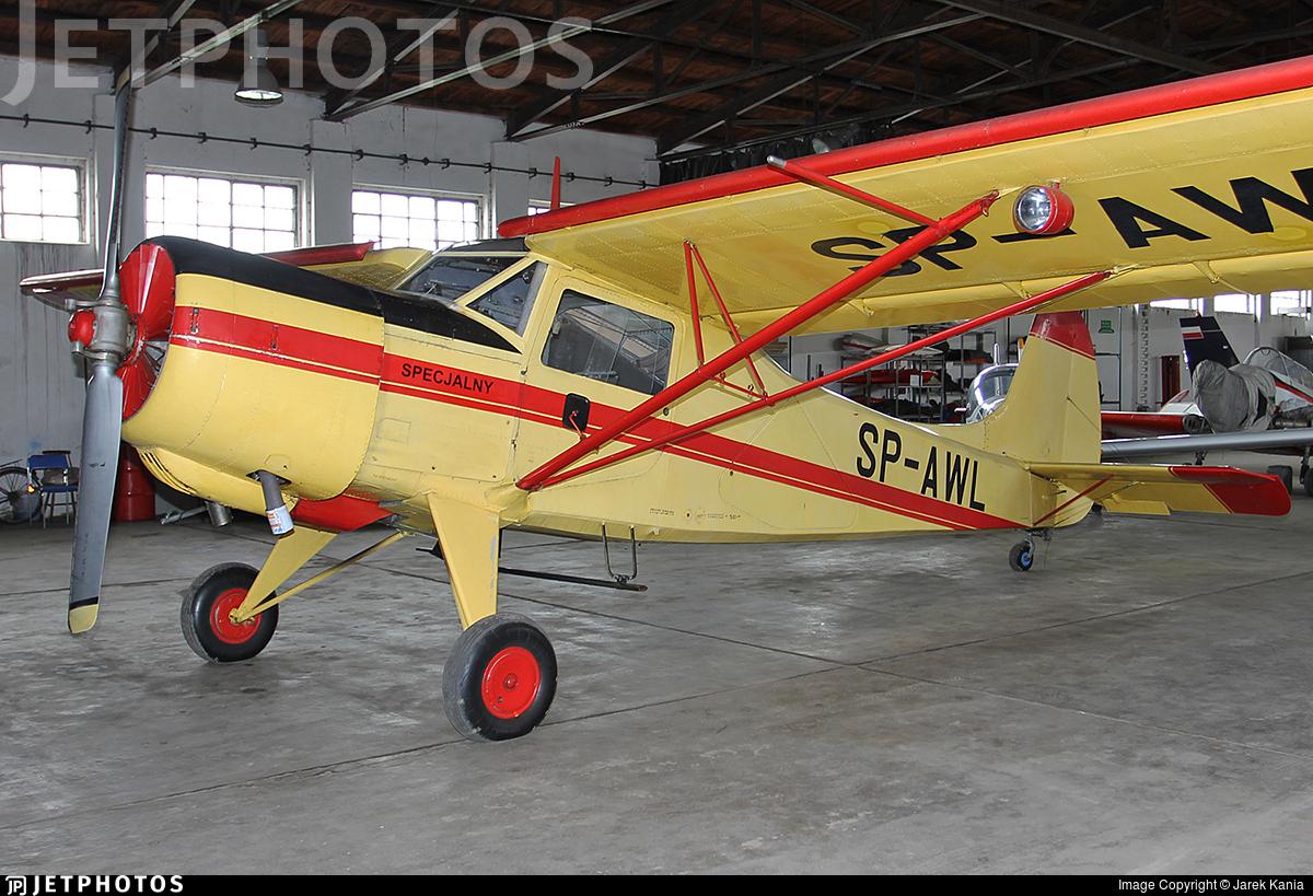 SP-AWL - Yakovlev Yak-12M - Private