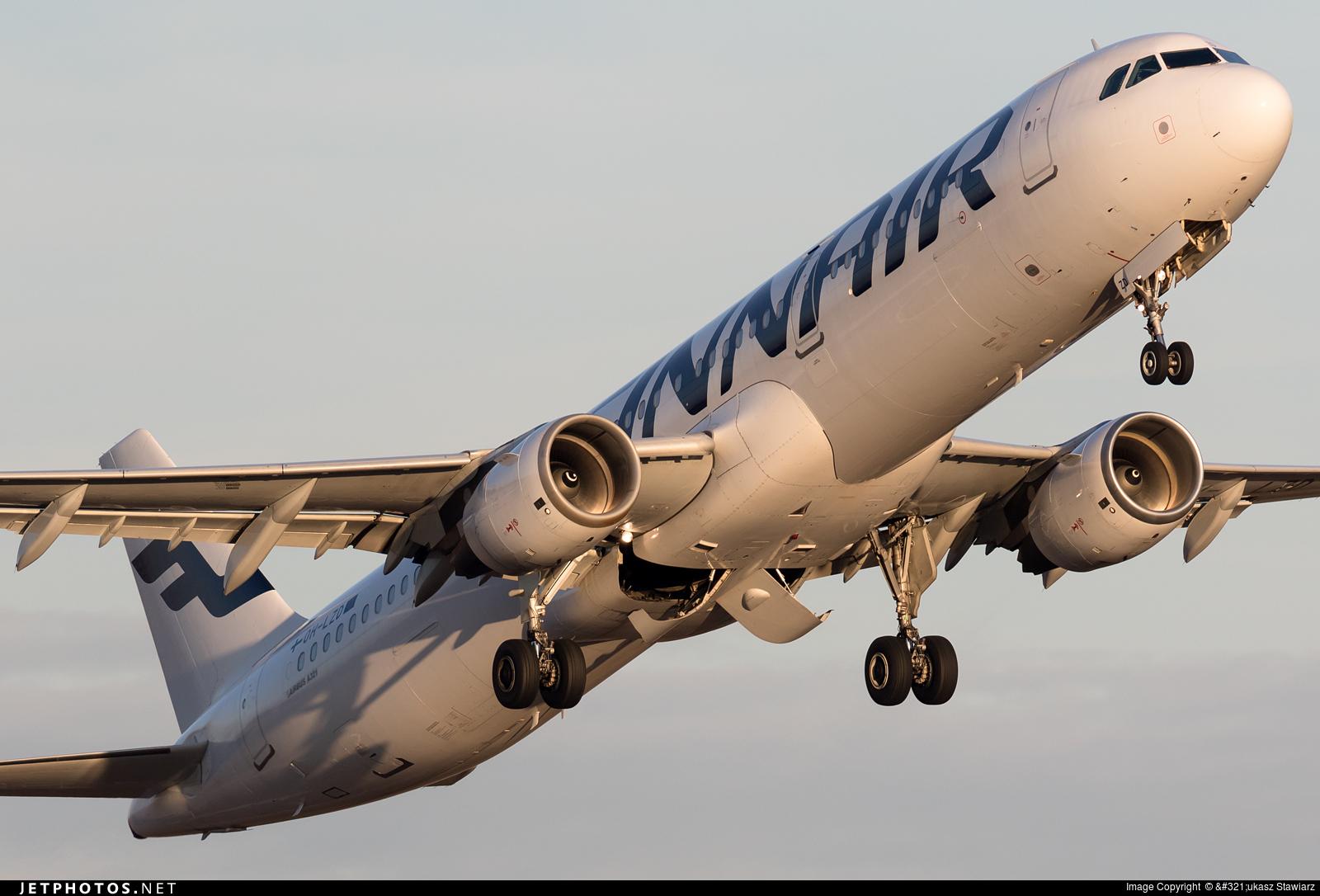 OH-LZD - Airbus A321-211 - Finnair