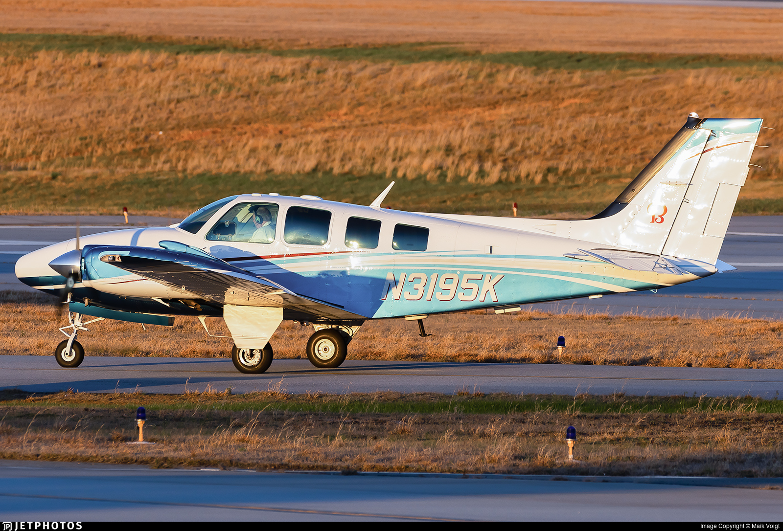 N3195K - Beechcraft 58 Baron - Private