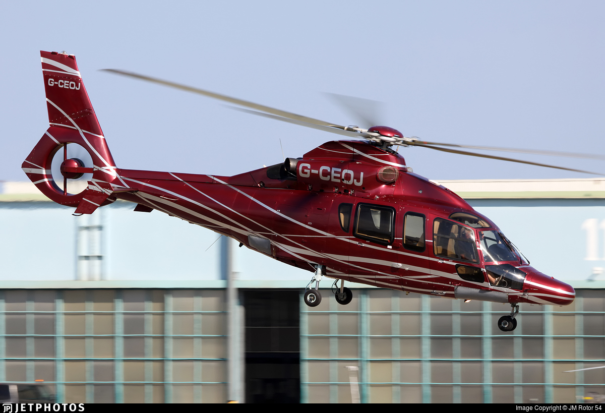 G-CEOJ - Eurocopter EC 155B1 Dauphin - Private