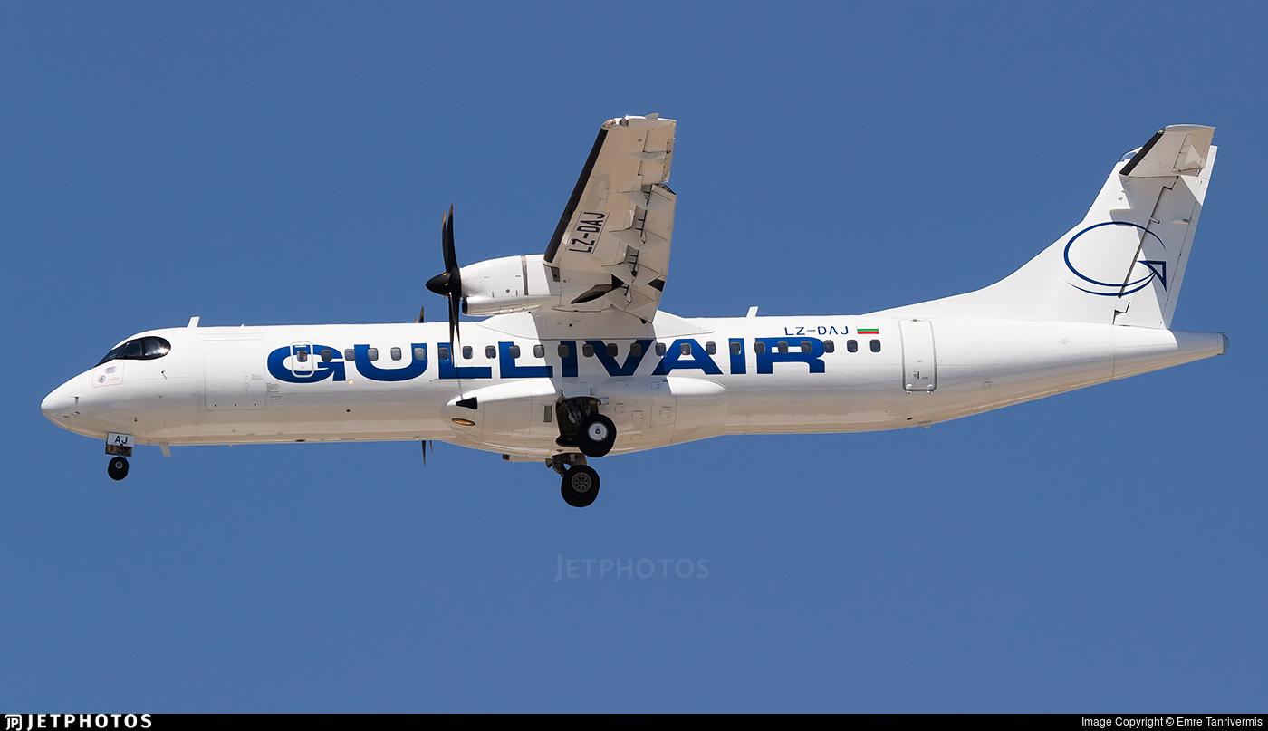 LZ-DAJ - ATR 72-212A(600) - Gullivair