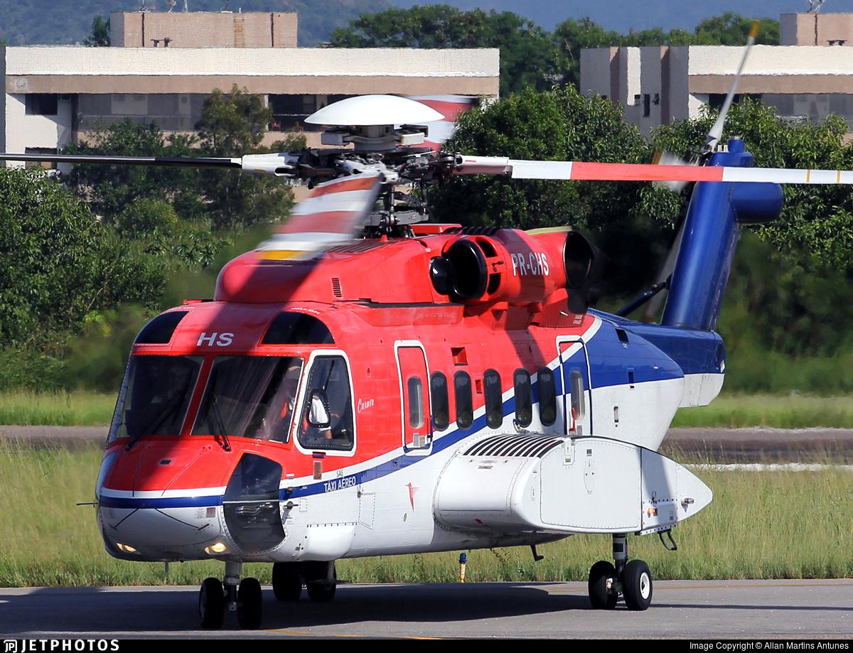 PR-CHS - Sikorsky S-92A Helibus - CHC do Brasil Taxi Aereo