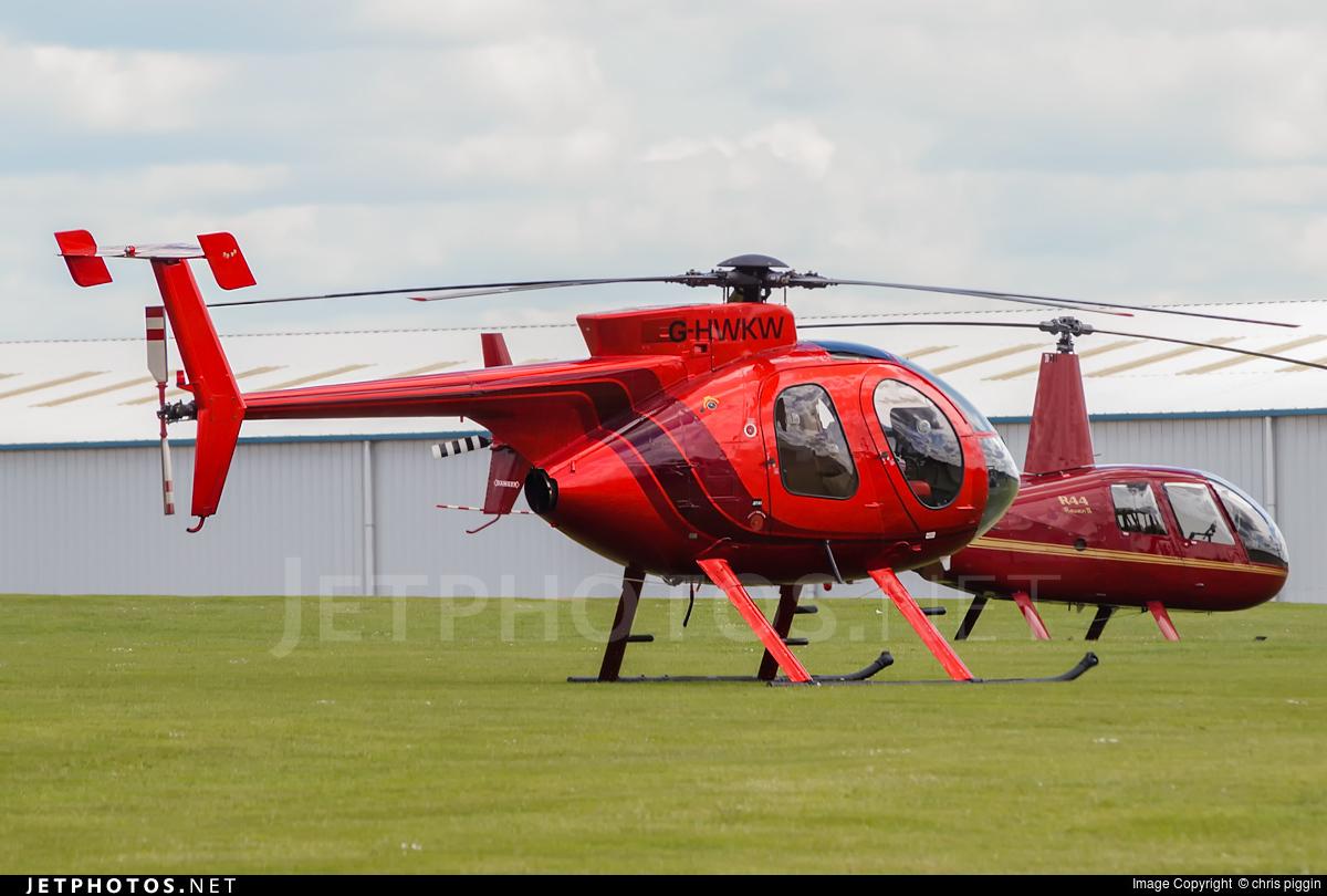 G-HWKW - Hughes 369E (500E) - Private