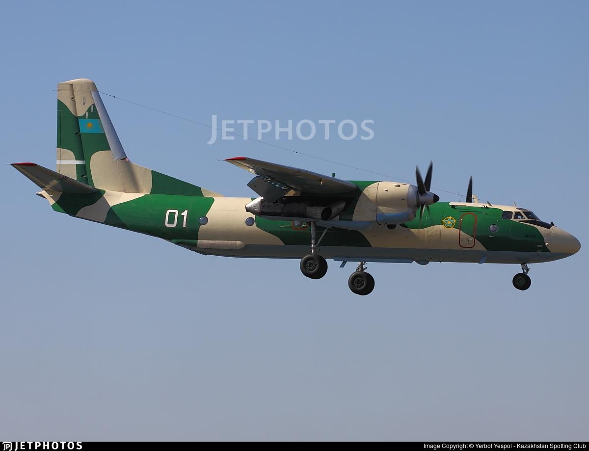 01 - Antonov An-26 - Kazakhstan - Air Force