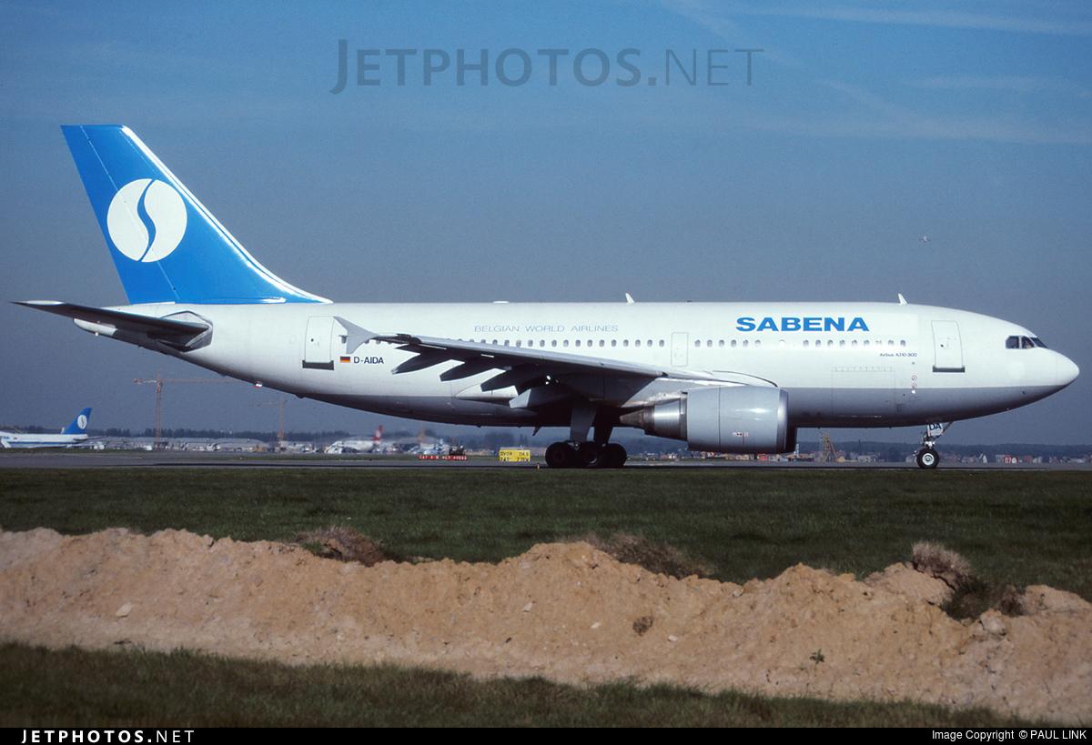 D-AIDA - Airbus A310-304 - Sabena