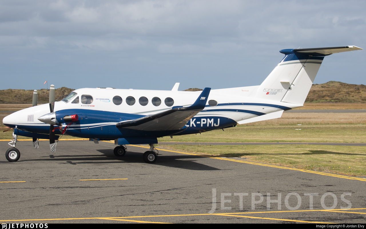 ZK-PMJ - Beechcraft B200 Super King Air - Air Wanganui