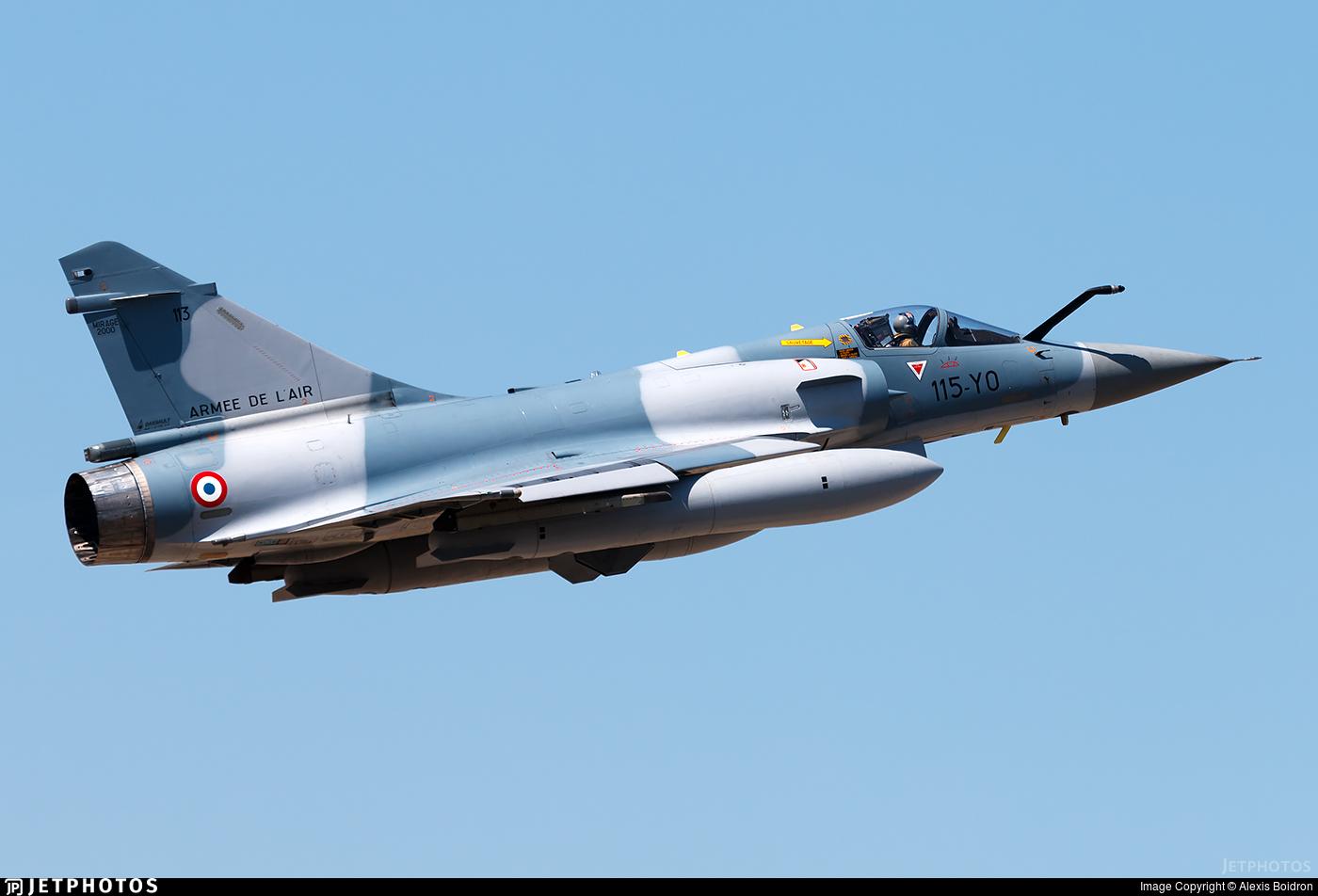 113 - Dassault Mirage 2000C - France - Air Force