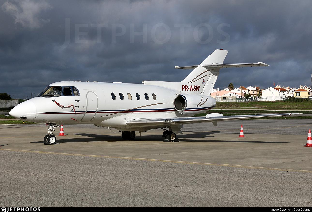 PR-WSW - British Aerospace BAe 125-800A - Private