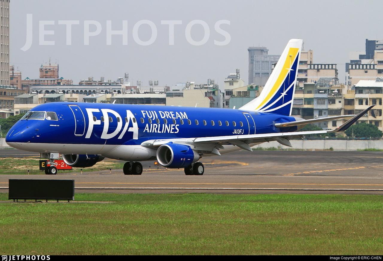 JA13FJ - Embraer 170-200STD - Fuji Dream Airlines