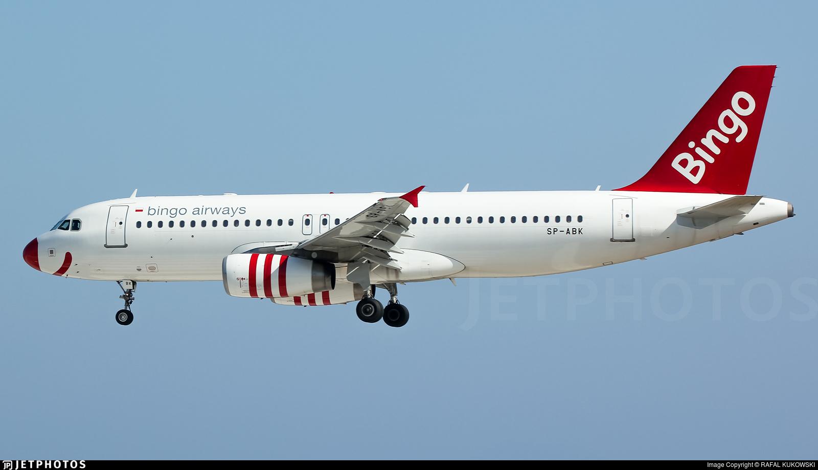 SP-ABK - Airbus A320-233 - Bingo Airways