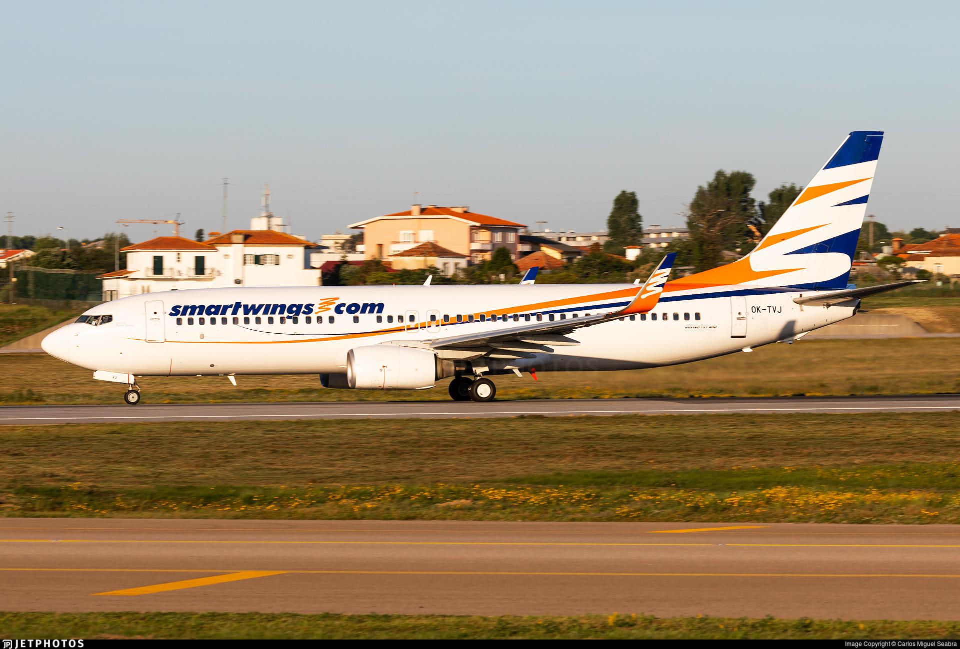 OK-TVJ - Boeing 737-8Q8 - SmartWings