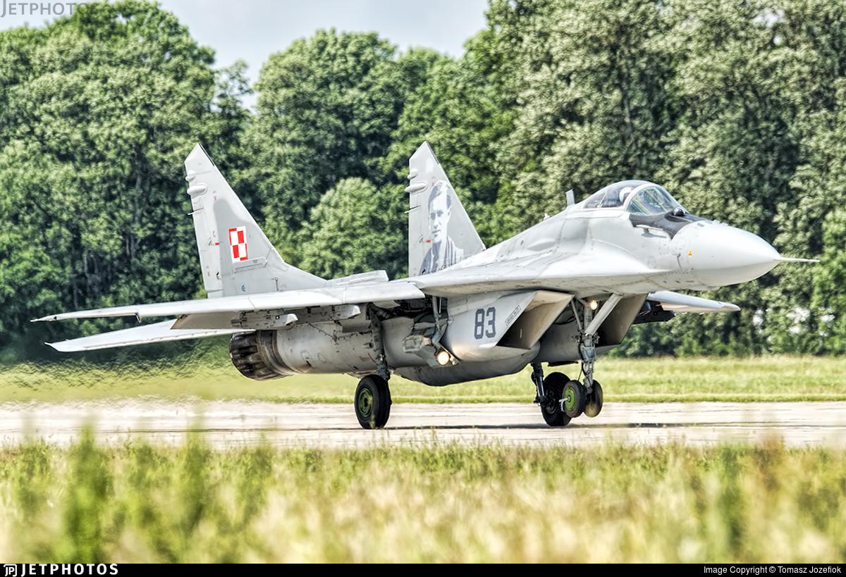 83 - Mikoyan-Gurevich MiG-29A Fulcrum - Poland - Air Force