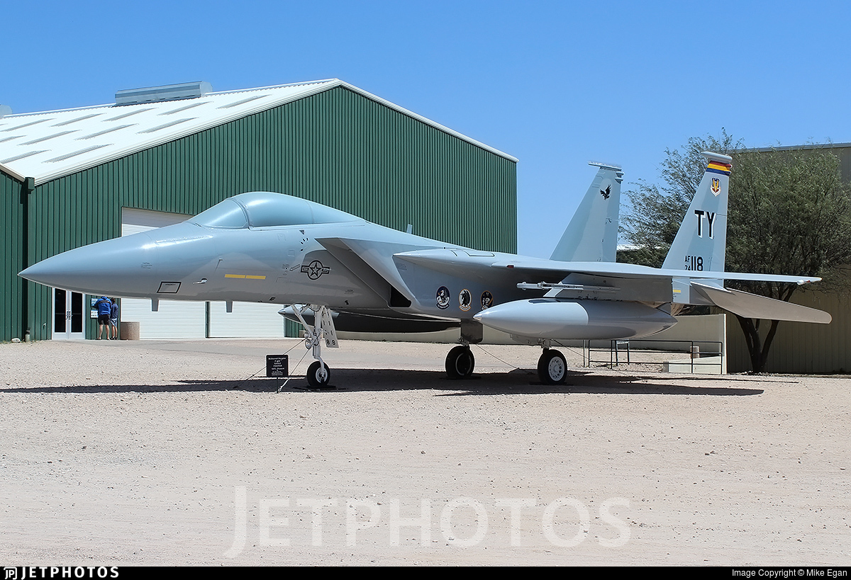 74-0118 - McDonnell Douglas F-15A Eagle - United States - US Air Force (USAF)