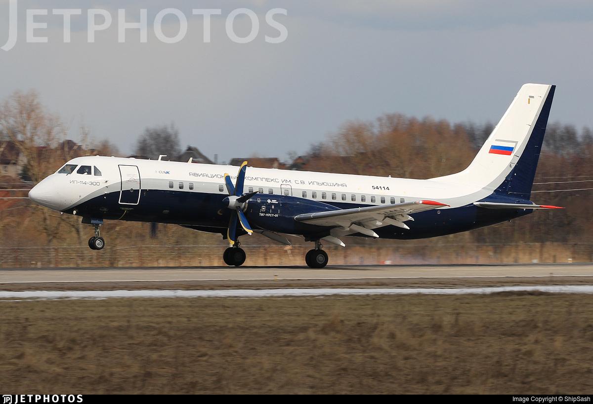 54114 - Ilyushin IL-114-300 - Ilyushin