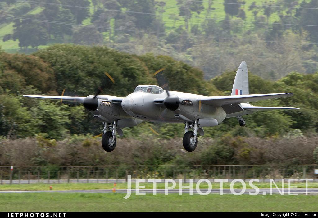ZK-FHC - De Havilland Mosquito T.3 - Private