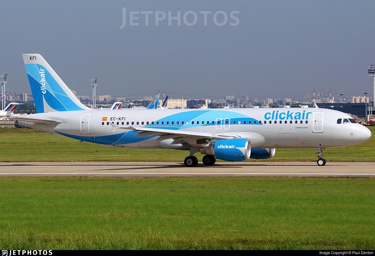 EC-KFI - Airbus A320-216 - Clickair