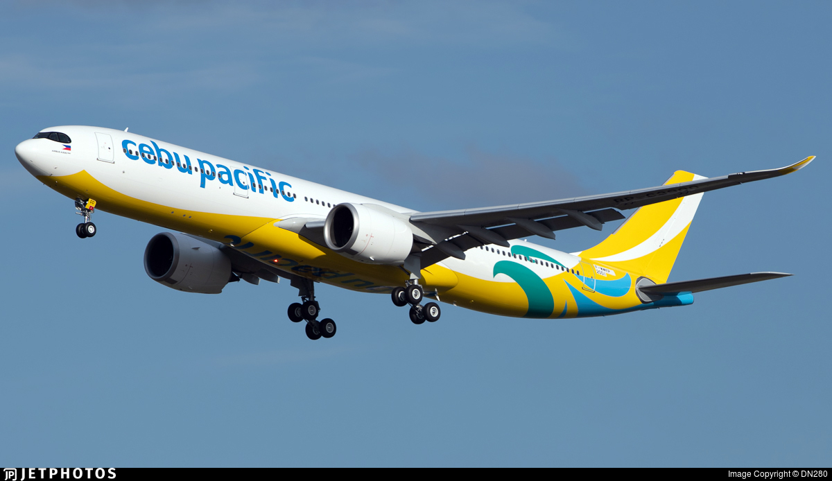 F-WWKP - Airbus A330-941 - Cebu Pacific Air