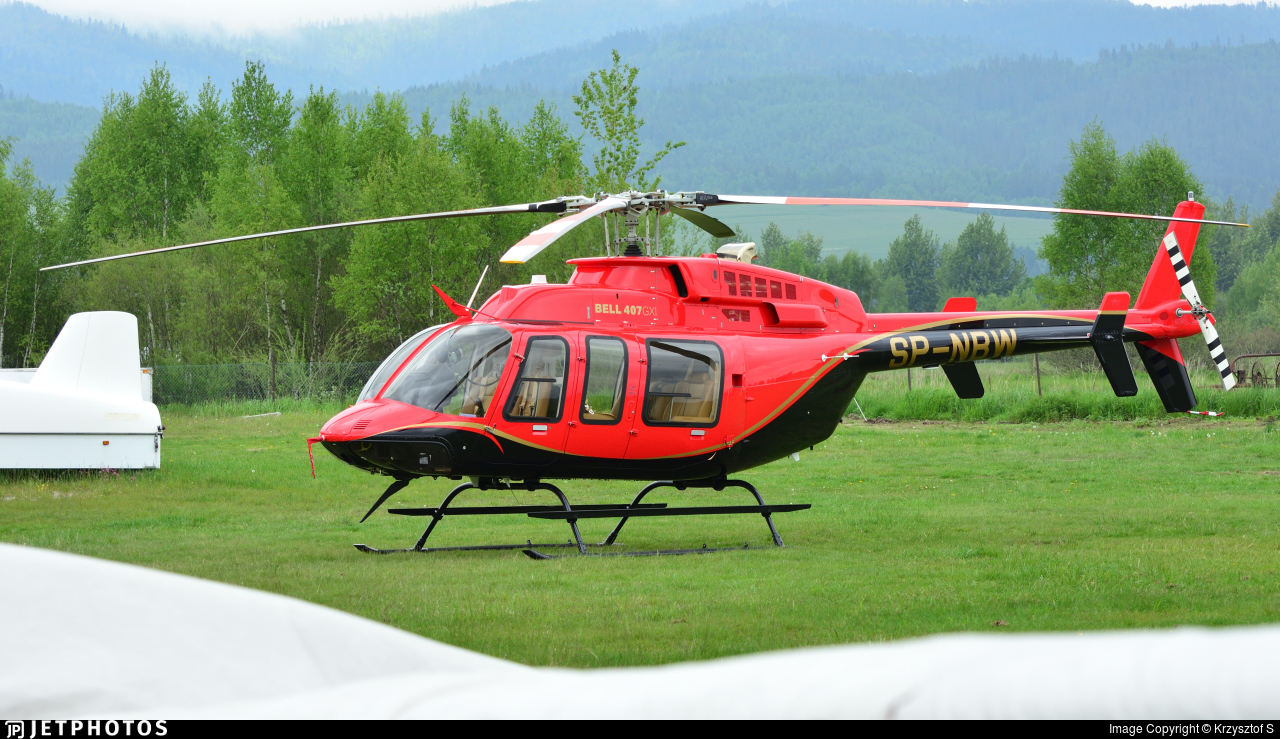 SP-NBW - Bell 407GXI - Private