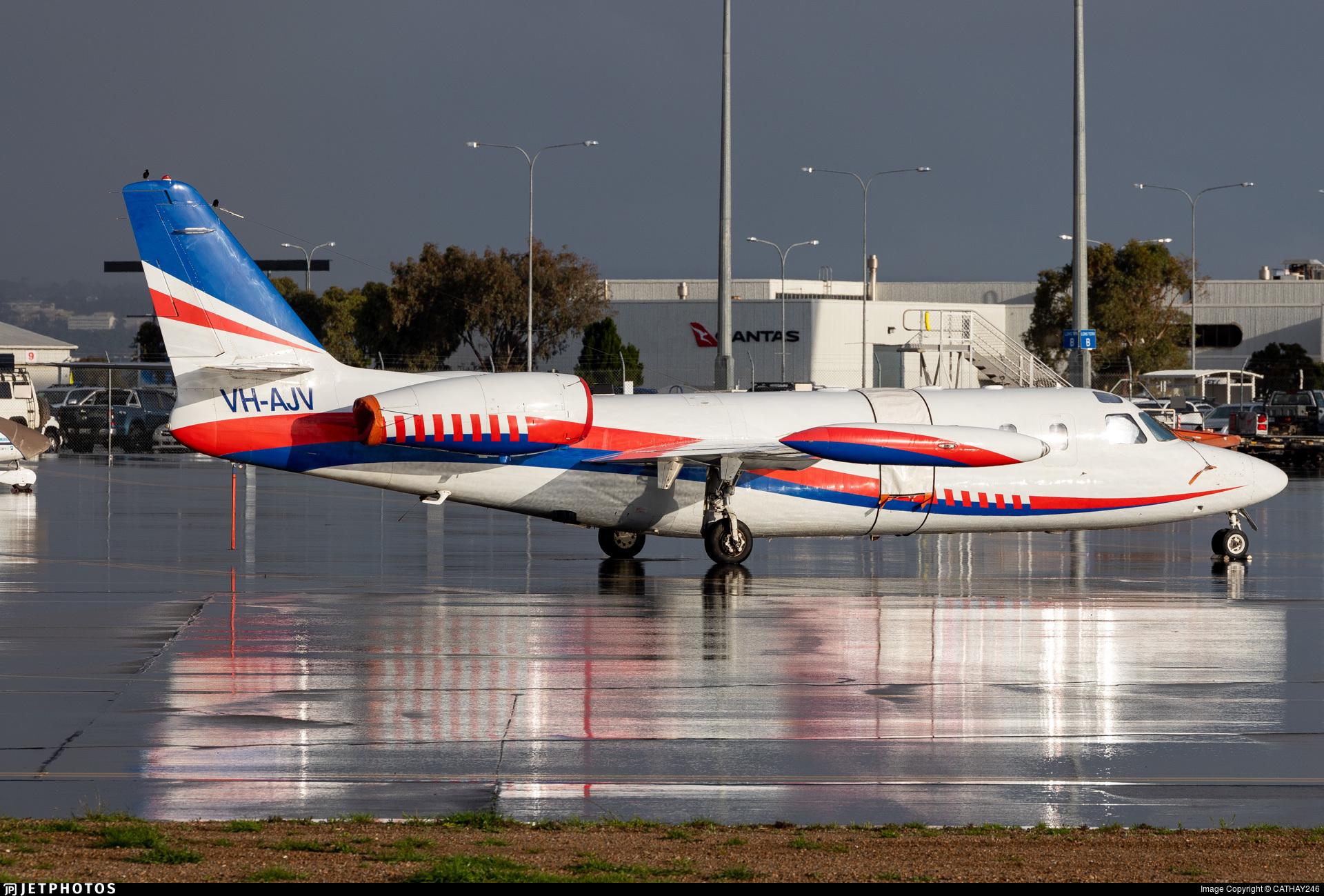 VH-AJV - IAI 1124 Westwind - Pel-Air Aviation