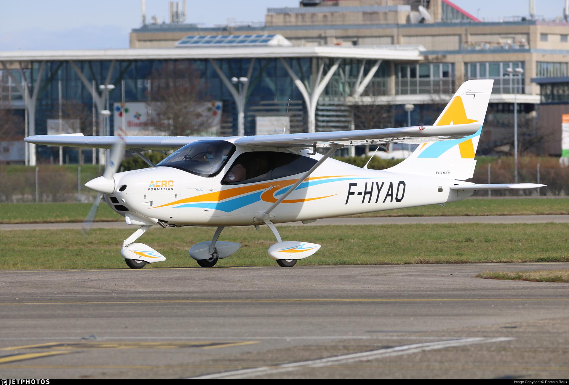 F-HYAO - Tecnam P2008JC MkII - AeroFormation