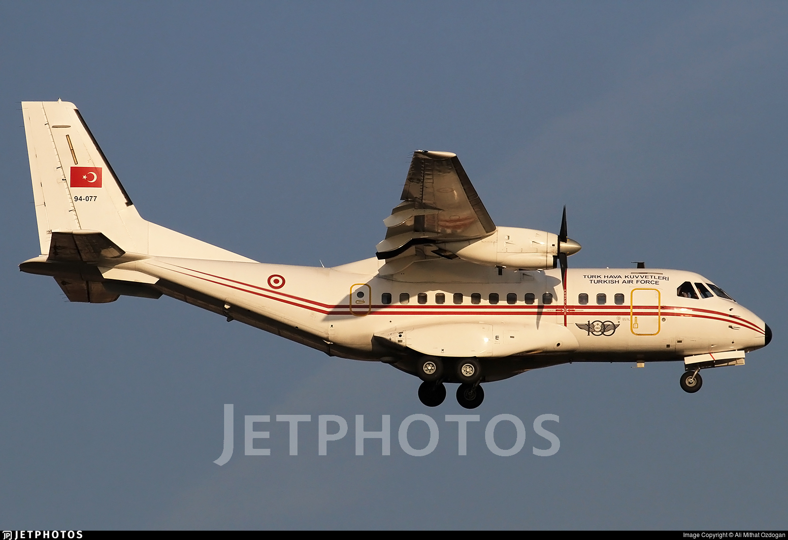 94-077 - CASA CN-235-100 - Turkey - Air Force