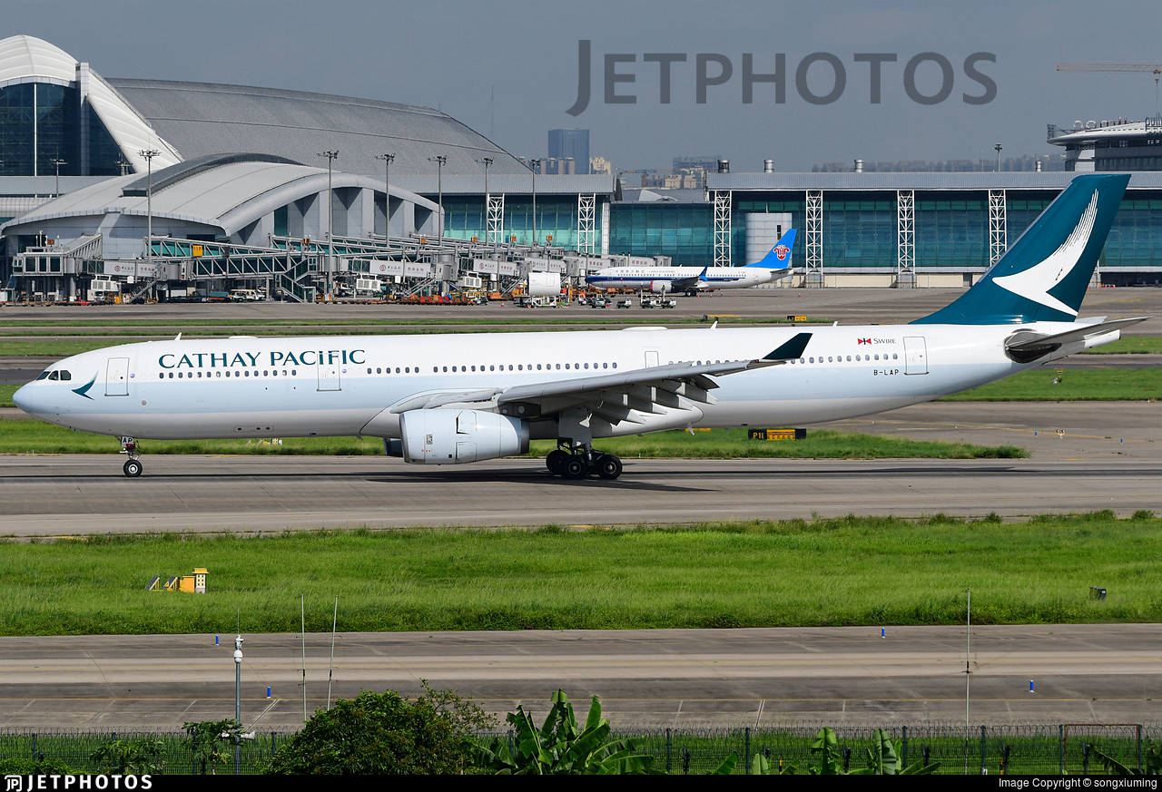 B-LAP - Airbus A330-343 - Cathay Pacific Airways