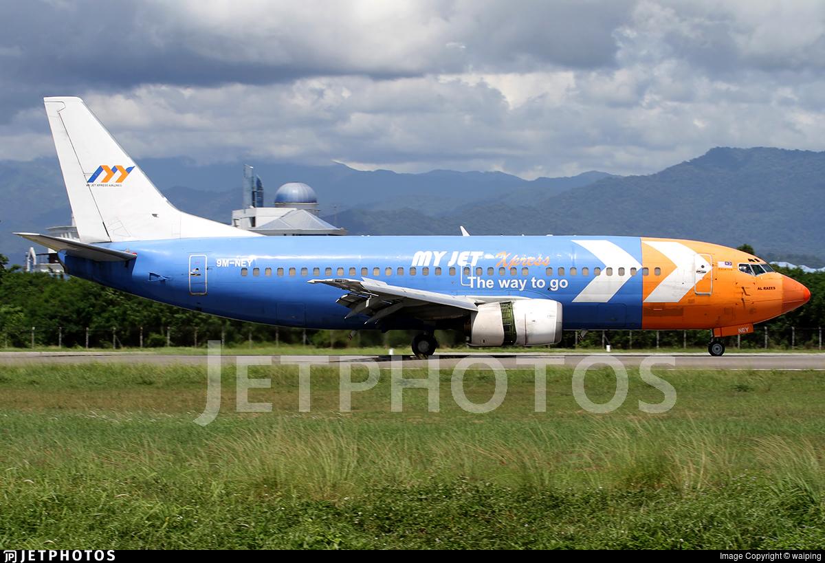 9M-NEY - Boeing 737-330(QC) - My Jet Xpress