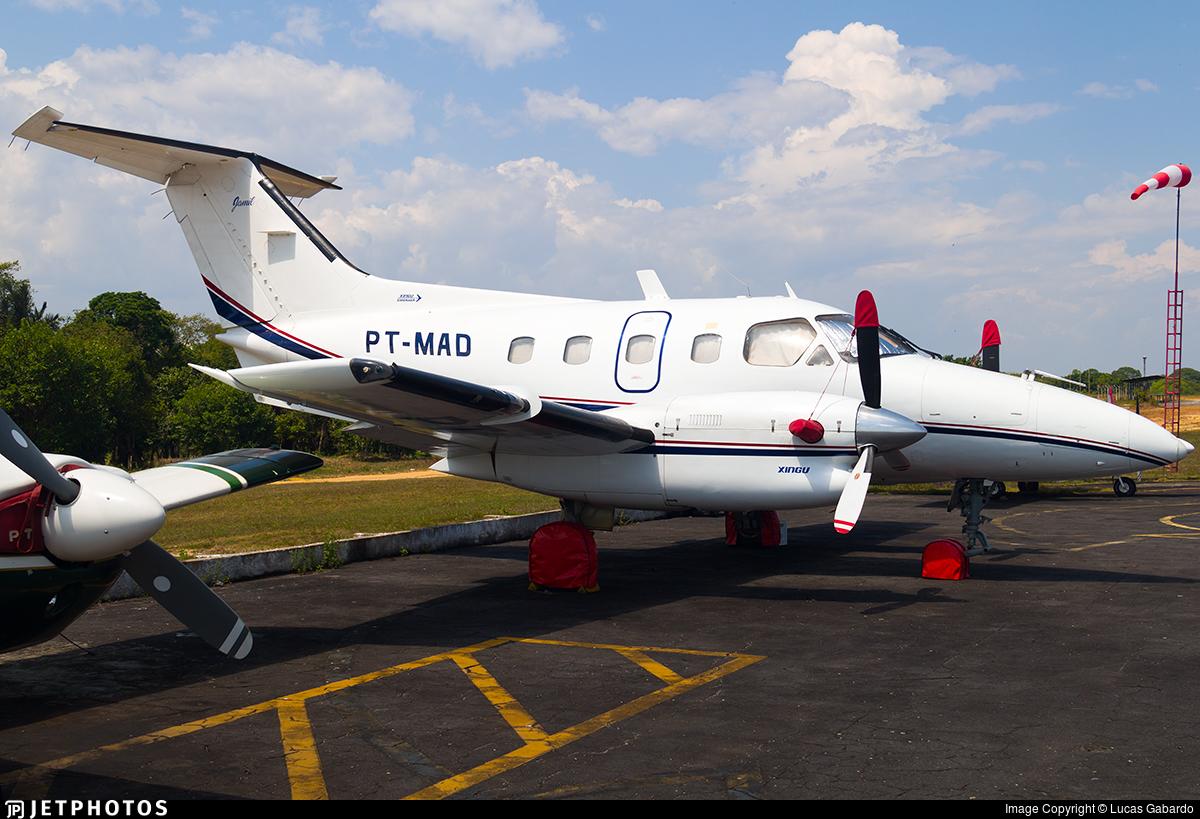 PT-MAD - Embraer EMB-121 Xingú - Private