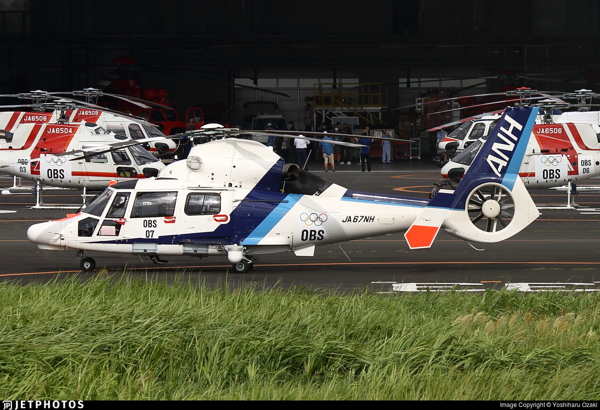 JA67NH - Airbus Helicopters AS365 N3+ Dauphin - All Nippon Helicopter
