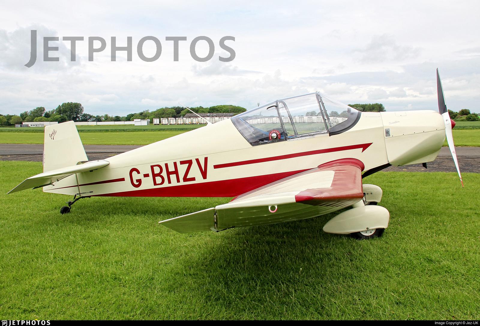 G-BHZV - Jodel D120A Paris-Nice - Private