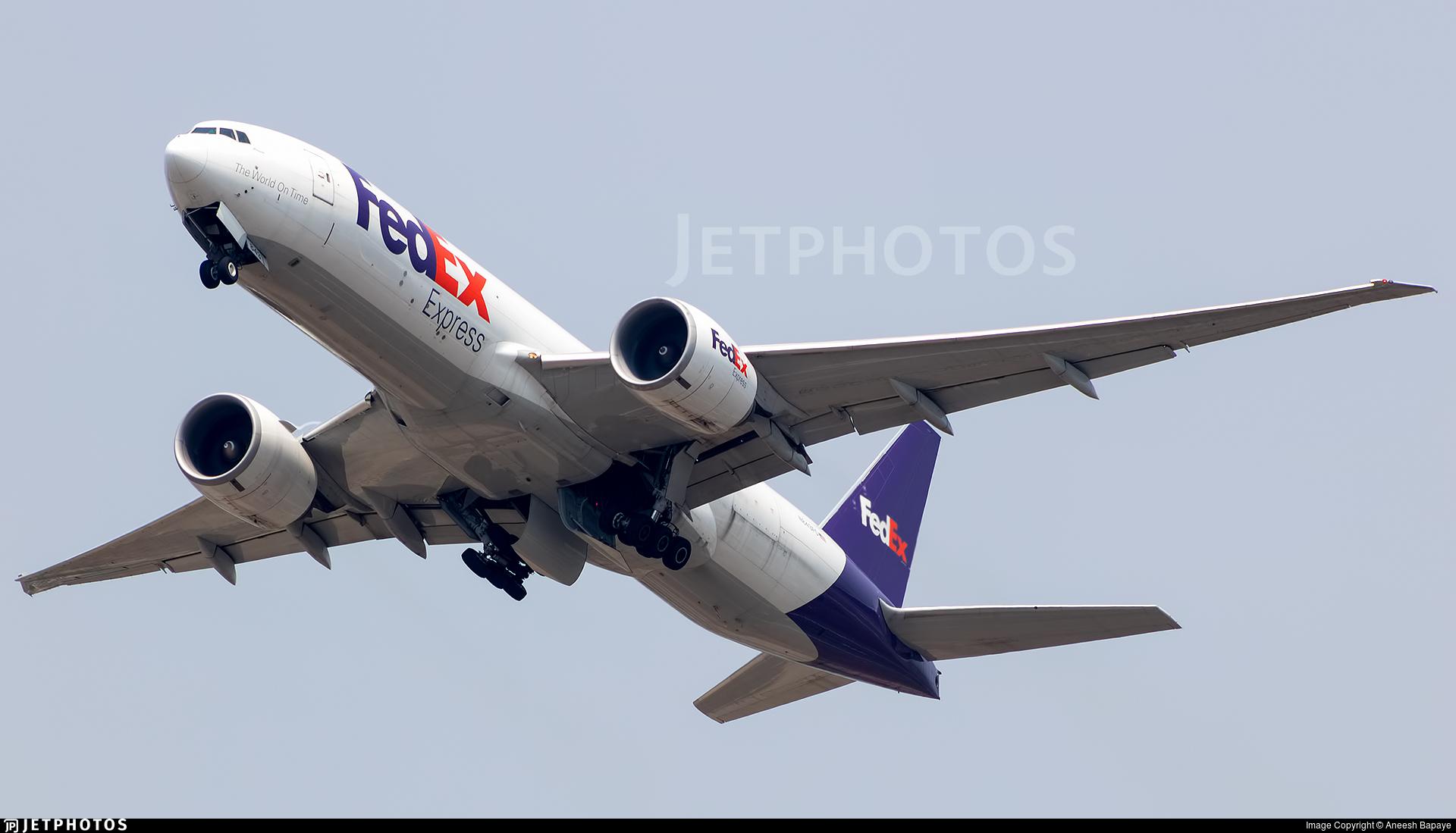N843FD - Boeing 777-FHT - FedEx