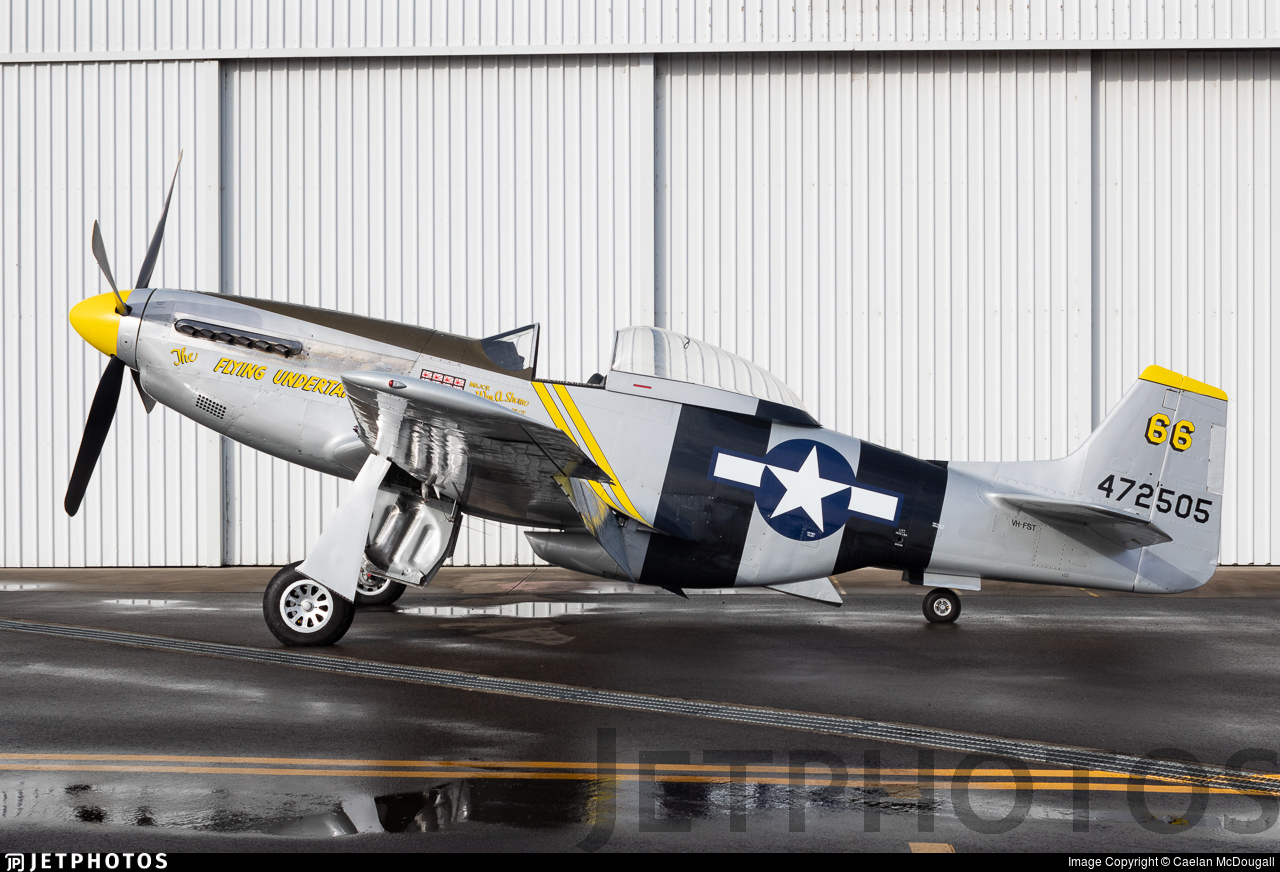 VH-FST - North American P-51D Mustang - Private