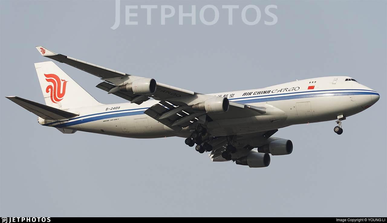 B-2409 - Boeing 747-412F(SCD) - Air China Cargo