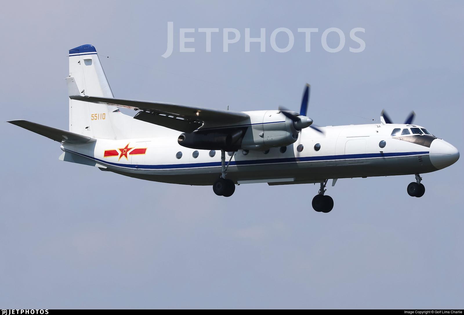 55110 - Xian Y-7 - China - Air Force