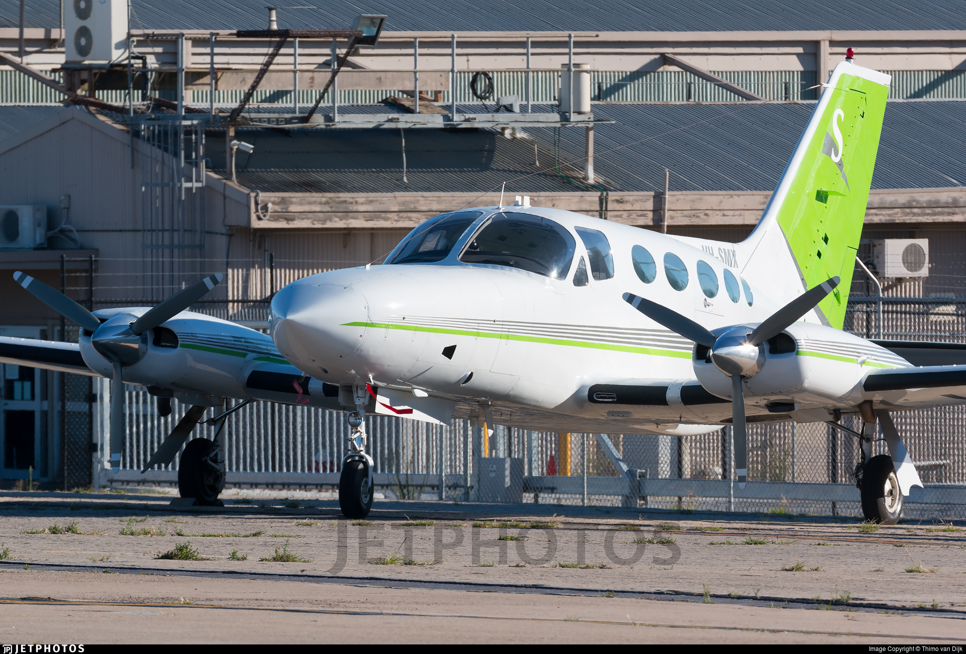 VH-SMX - Cessna 414A Chancellor - Private
