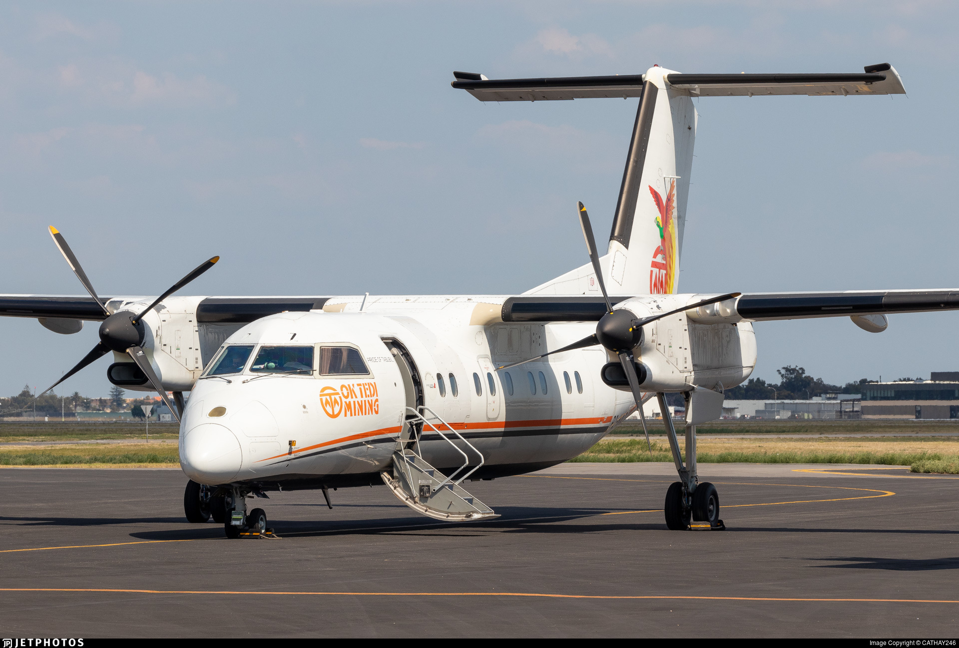 P2-NAZ - Bombardier Dash 8-103 - Asia Pacific Airlines