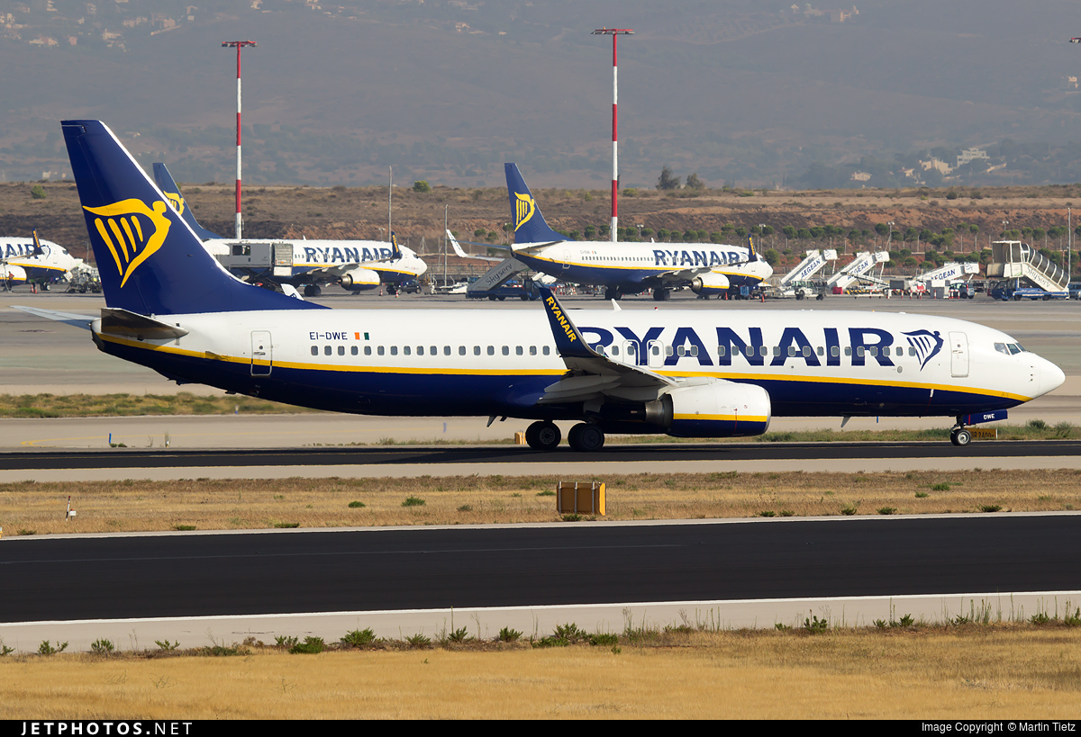 EI-DWE - Boeing 737-8AS - Ryanair