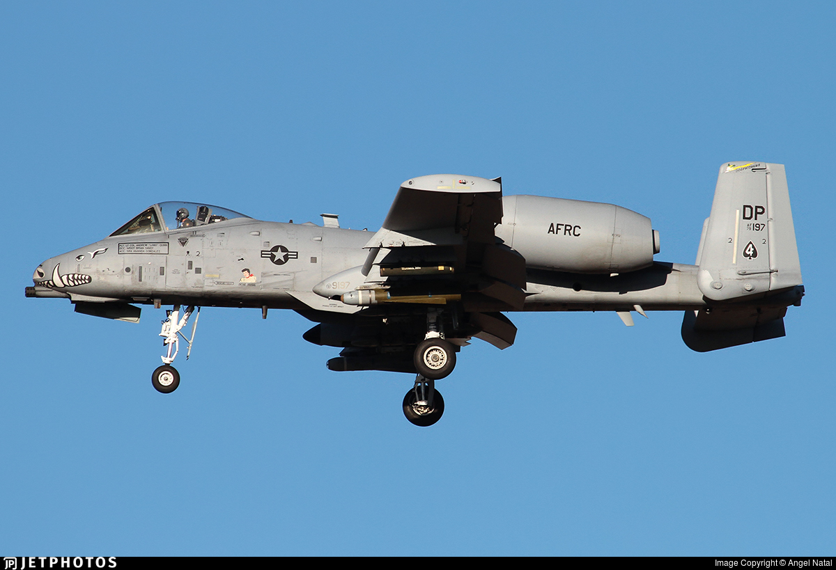 79-0197 - Fairchild A-10C Thunderbolt II - United States - US Air Force (USAF)