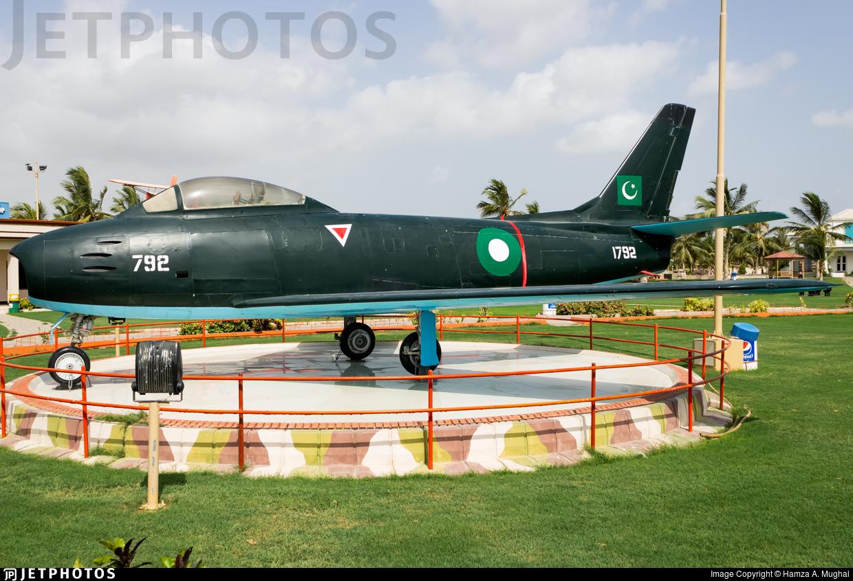 1792 - Canadair CL-13B-6 Sabre - Pakistan - Air Force