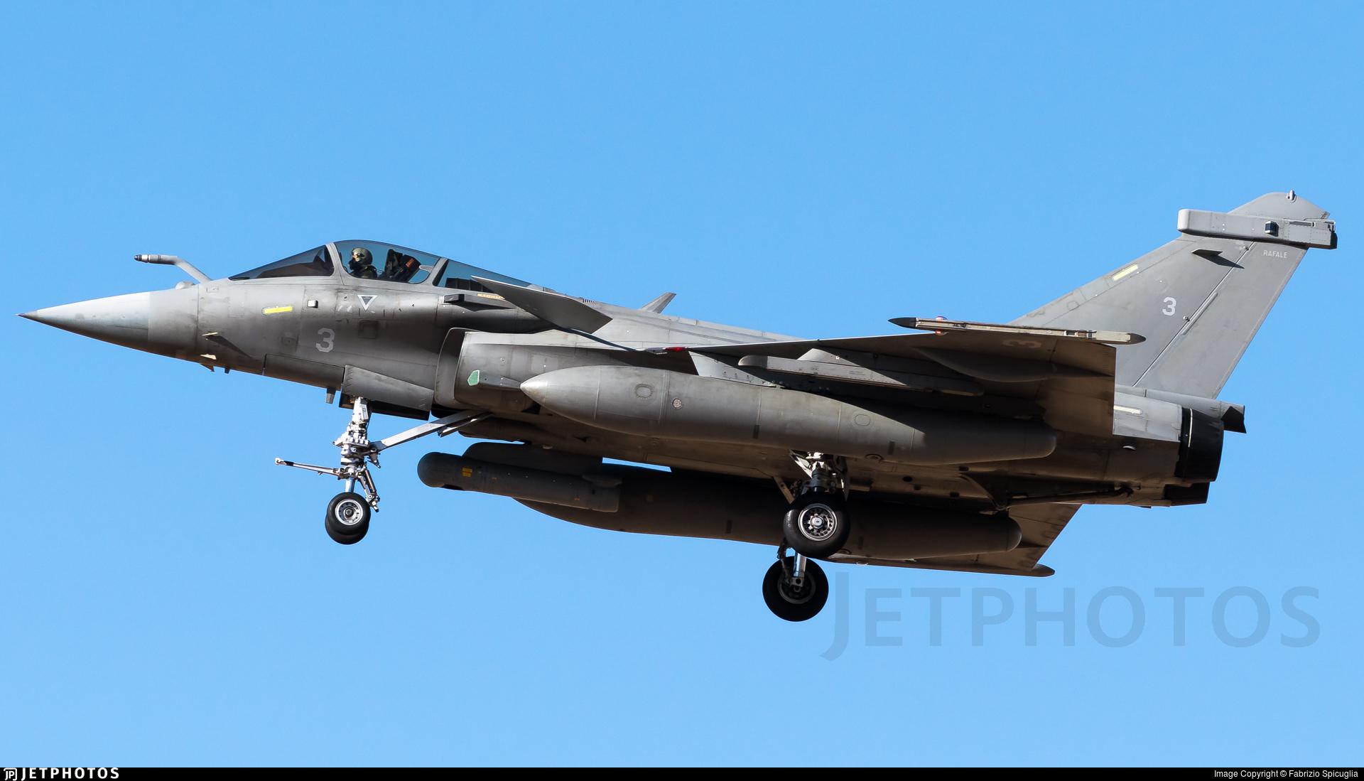 3 - Dassault Rafale M - France - Navy