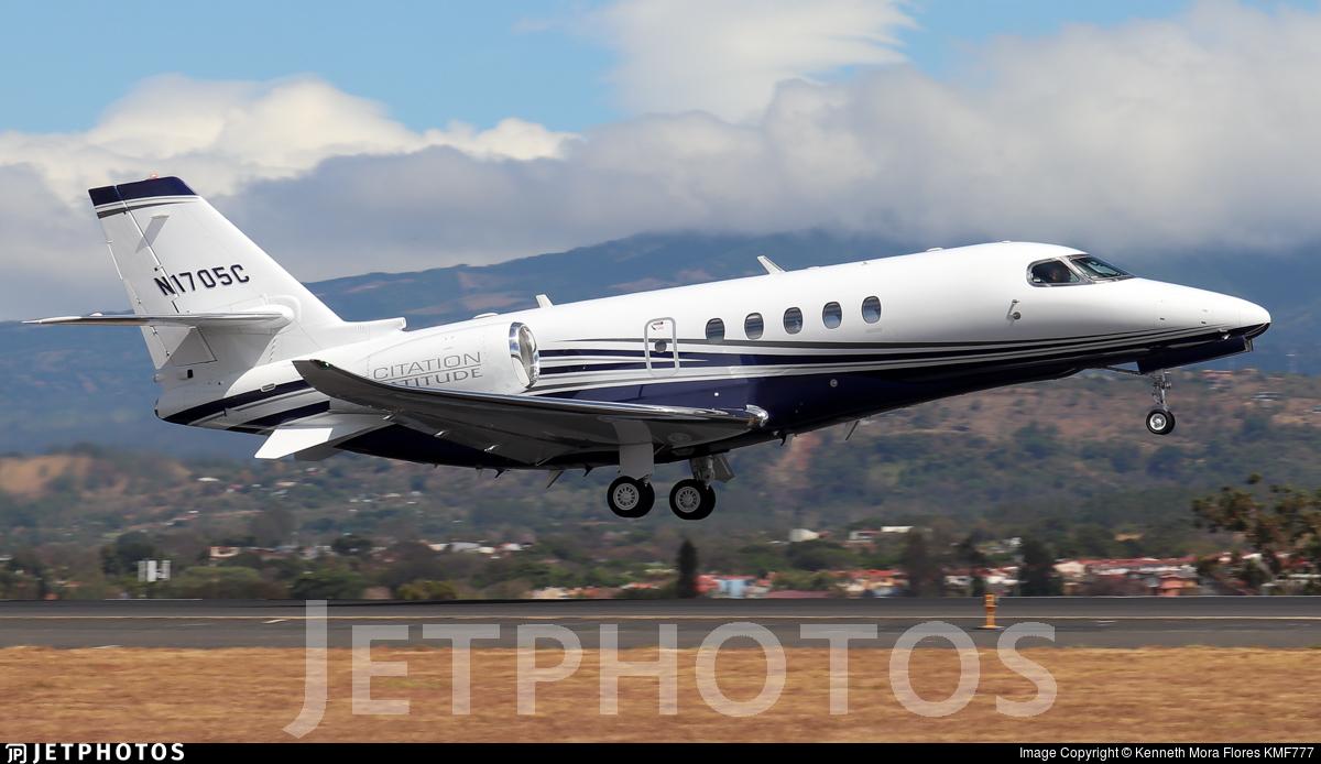 N1705C - Cessna Citation Latitude - Private
