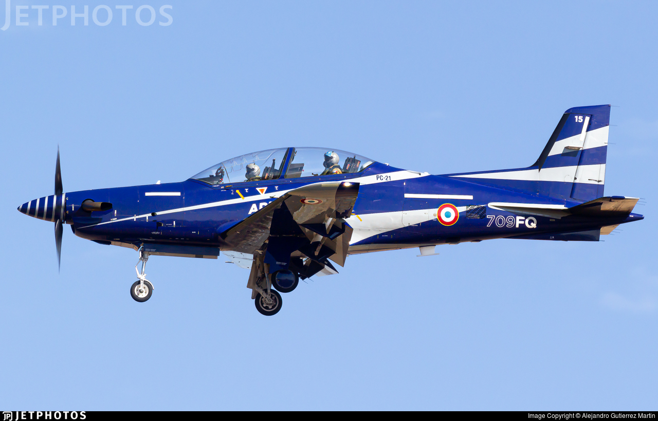 15 - Pilatus PC-21 - France - Air Force