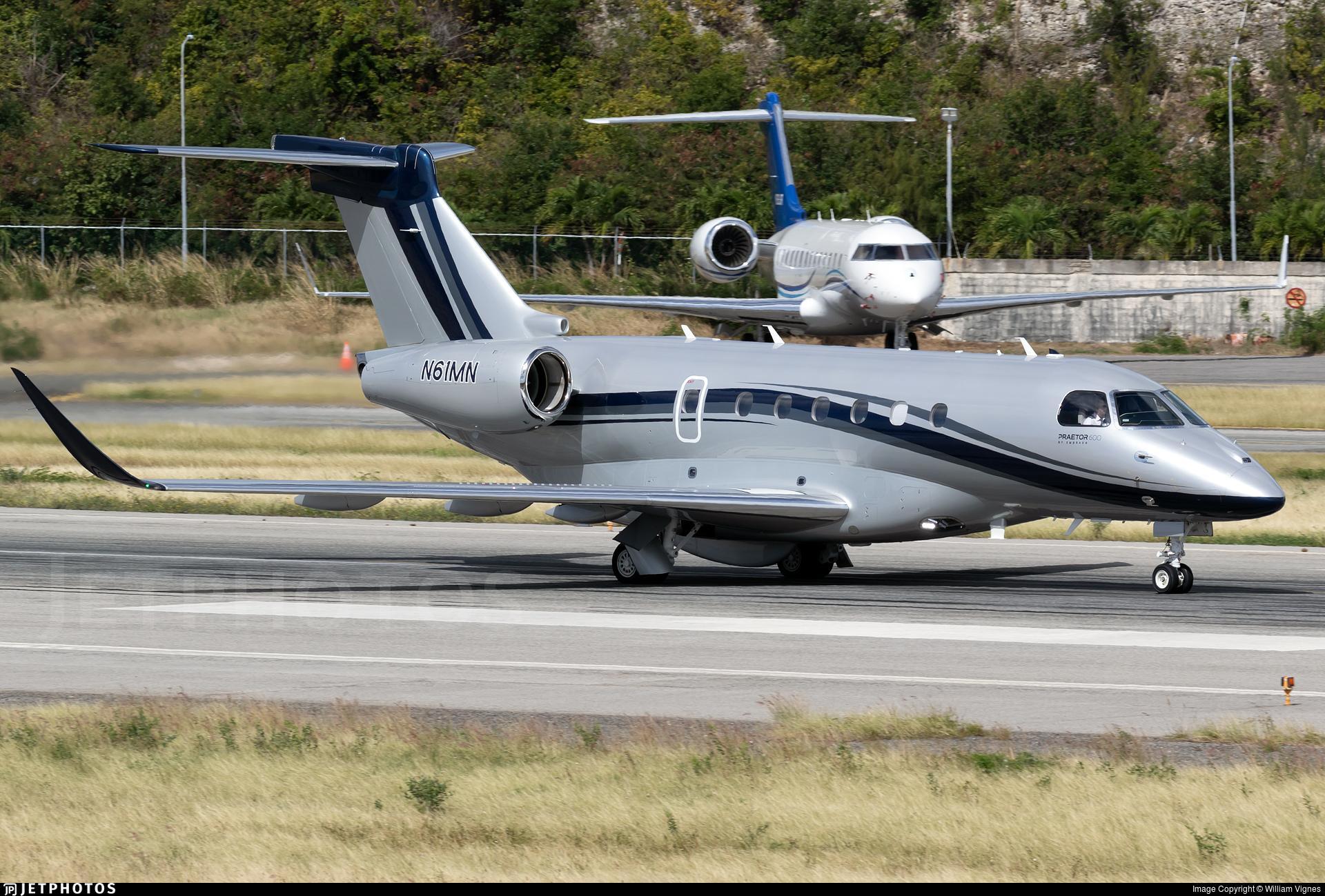 N61MN - Embraer EMB-550 Praetor 600 - Private