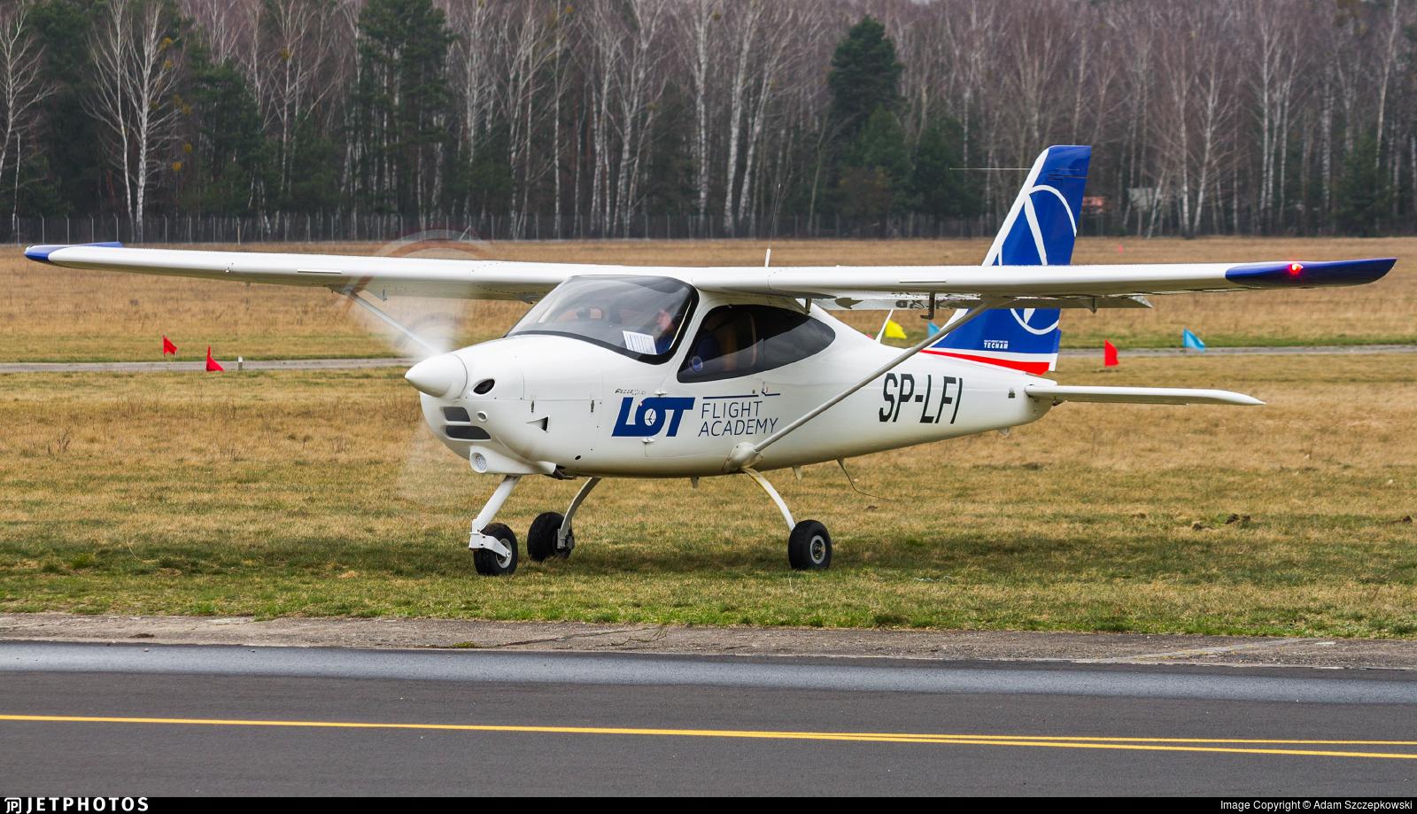 SP-LFI - Tecnam P2008JC MkII - LOT Flight Academy