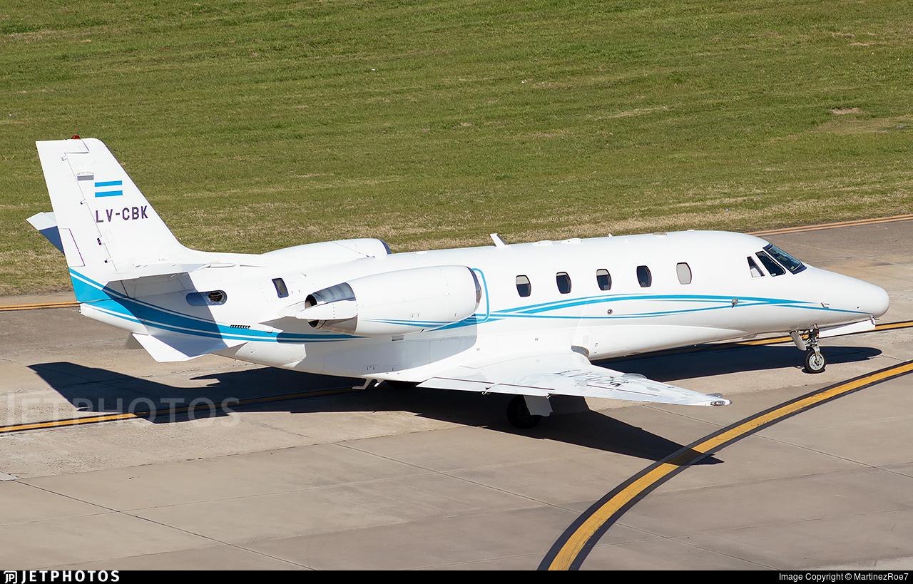 LV-CBK - Cessna 560XL Citation Excel - Royal Class