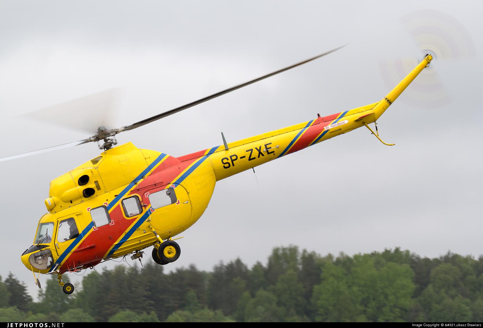 SP-ZXE - PZL-Swidnik Mi-2 Hoplite - Heliseco