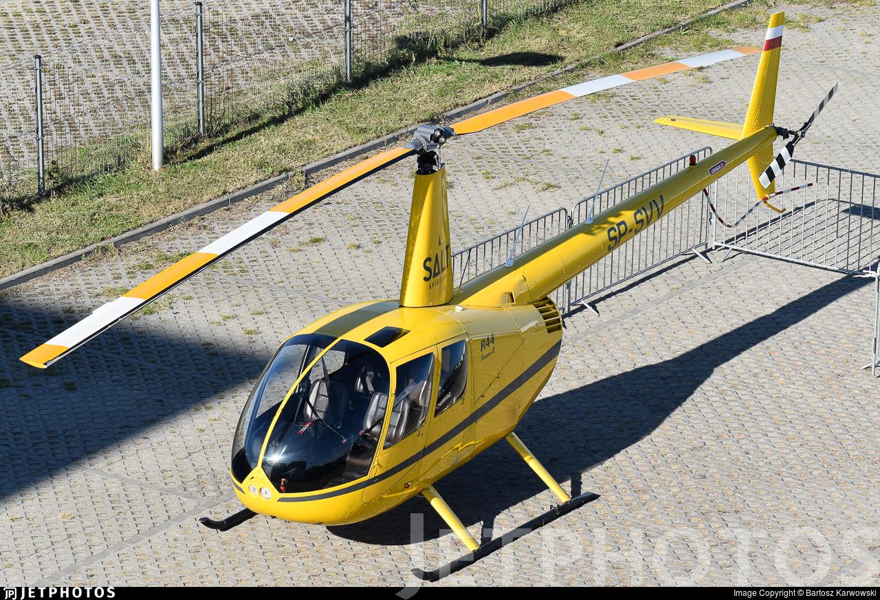 SP-SVV - Robinson R44 Raven II - Salt Aviation
