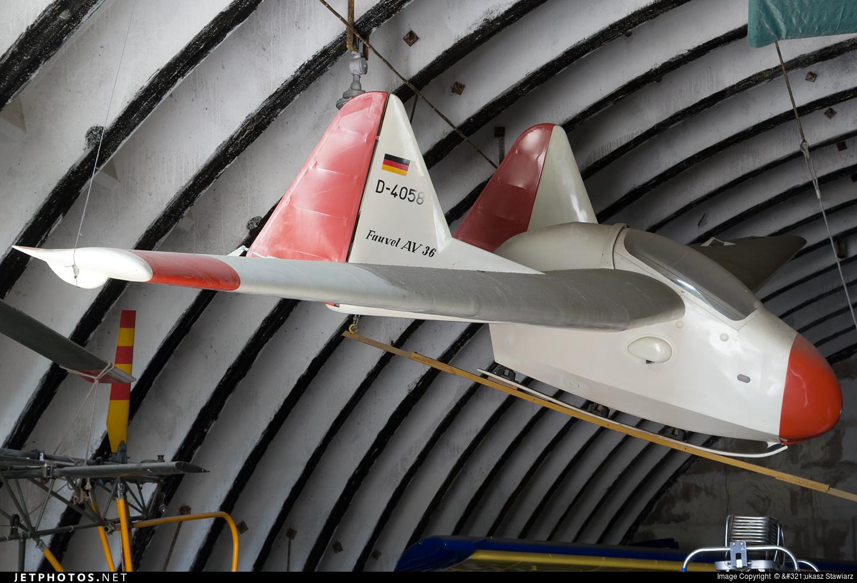 D-4058 - Fauvel AV-36CR - Private