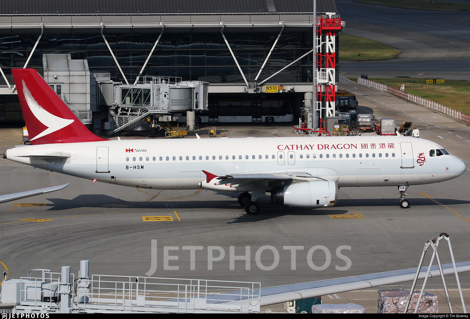 B-HSM - Airbus A320-232 - Cathay Dragon
